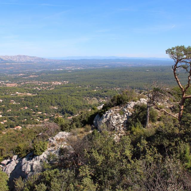 Cretes Sainte Victoire Saint Savournin Oti Aubagne