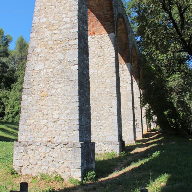 Aqueduc Chemin La Penne Sur Huveaune Oti Aubagne