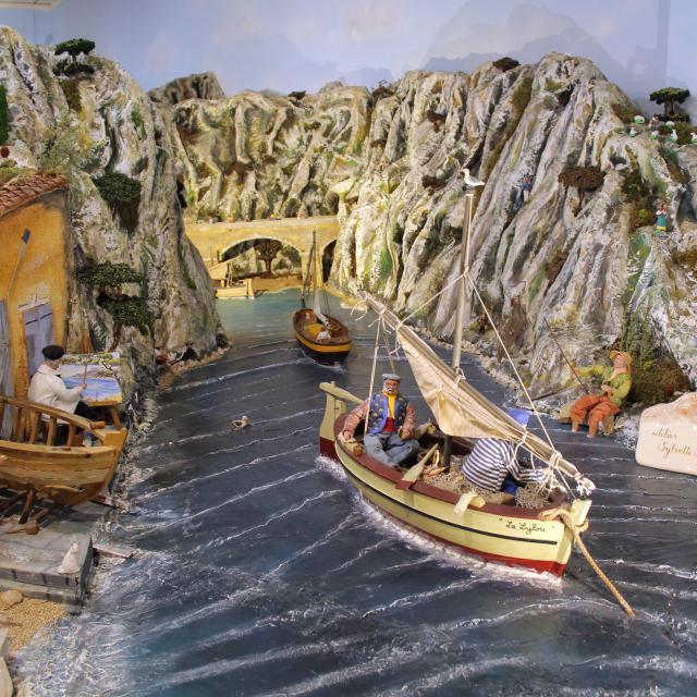Calanque Village Des Santons Musee Aubagne Oti Aubagne