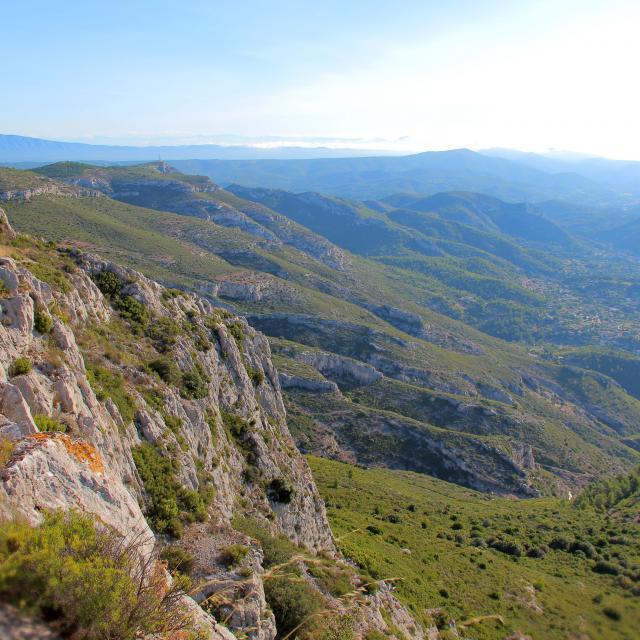 Collines Garrigue Massif De L'etoile Nature Oti Aubagne