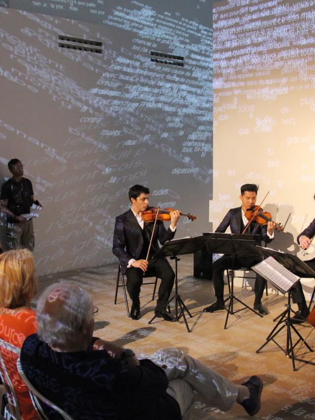 Concert Musique Centre D'art Penitents Noirs Oti Aubagne