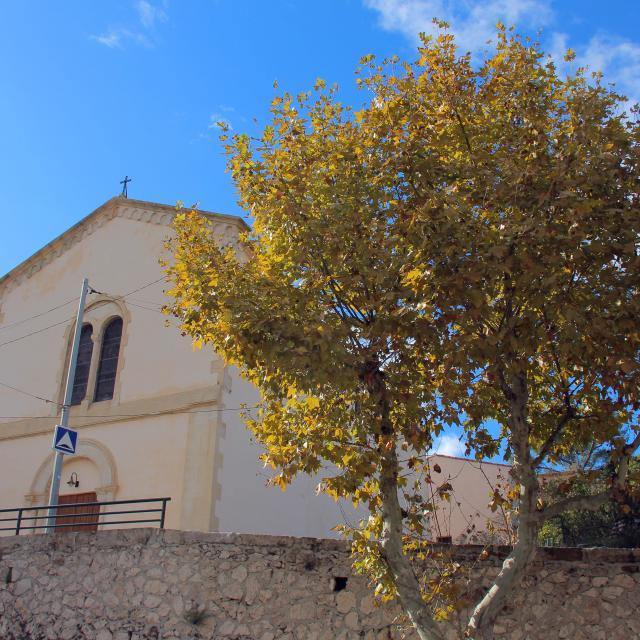 Eglise La Destrousse Oti Aubagne