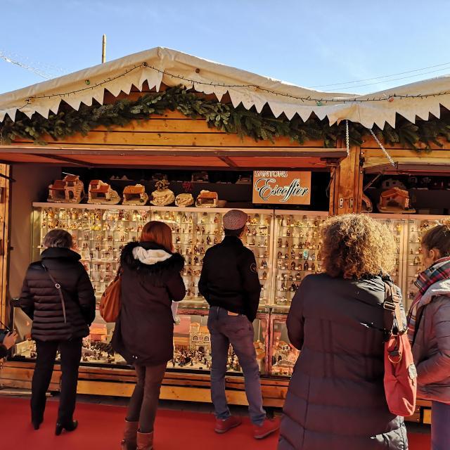 Santons Escoffier - marché au santon et à la céramique d'hiver - OTI Aubagne