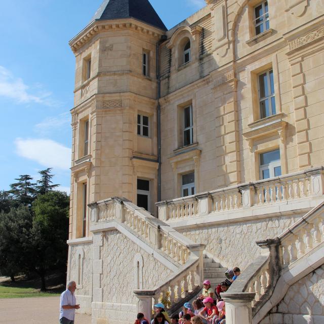 Groupe Scolaires Enfants Chateau Buzine Culture Visite Guidee Pagnol Oti Aubagne