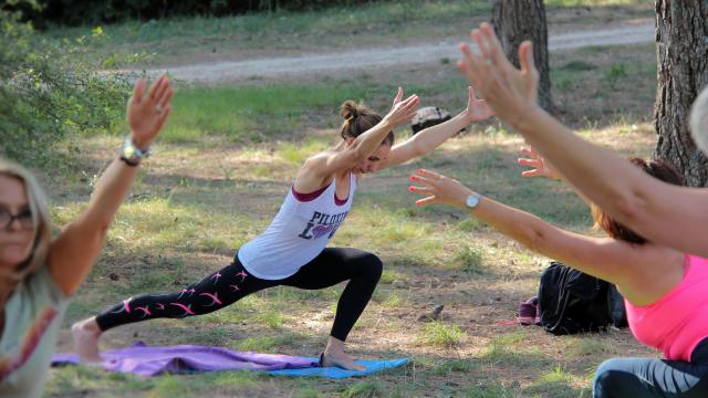 Pilates Exercice Nature Musculation Activite La Font De Mai Oti Aubagne