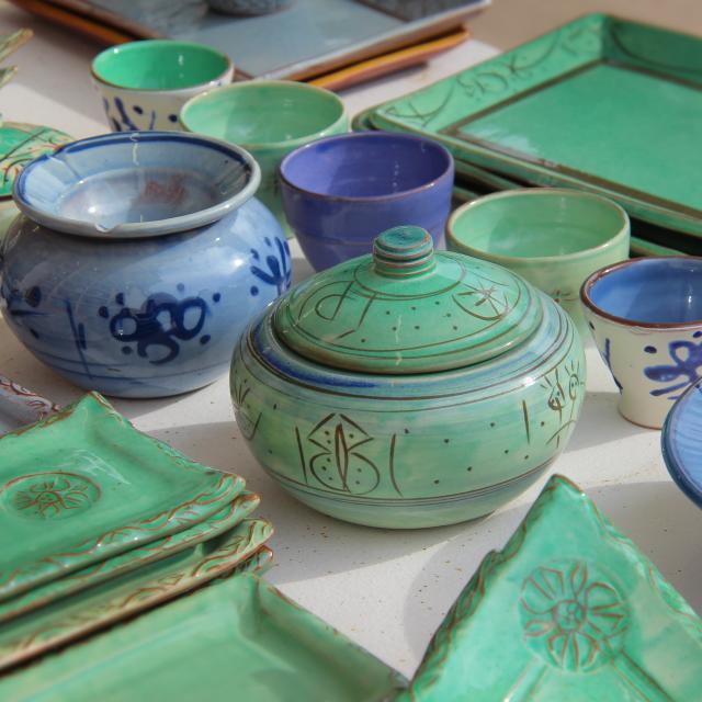 Poteries Ceramique Marche Ete Argile Marouane Oti Aubagne