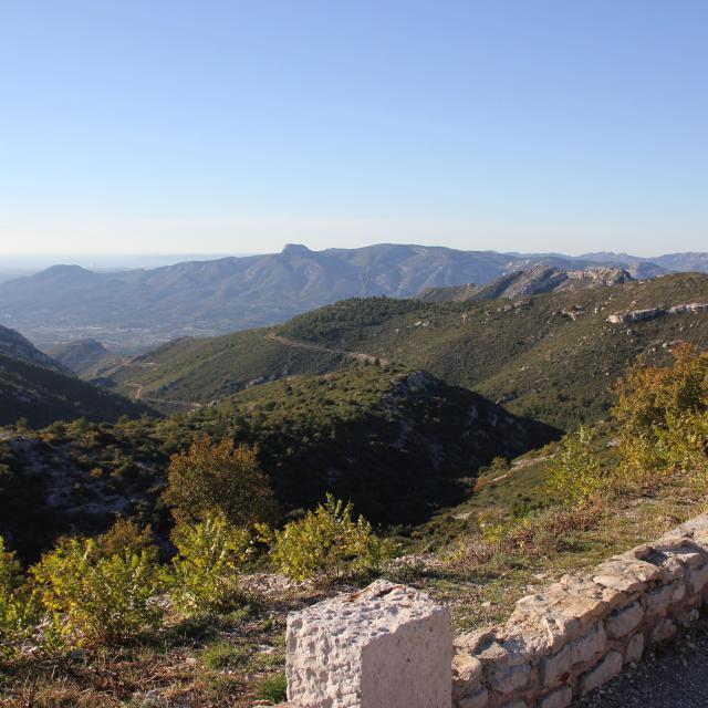 Ruissatel Garlaban Chaine De L'etoile Panorama Espigoulier Oti Aubagne