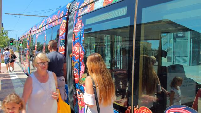 Tramway Arret Transport Aubagne Oti Aubagne