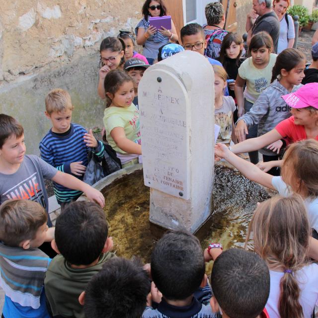 Visite Scolaires Enfants Fontaine Manon Des Sources Pagnol La Treille Oti Aubagne