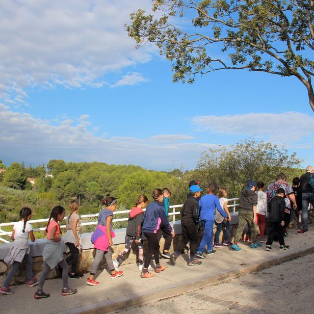 Visite Scolaires Enfants Montee La Treille Oti Aubagne