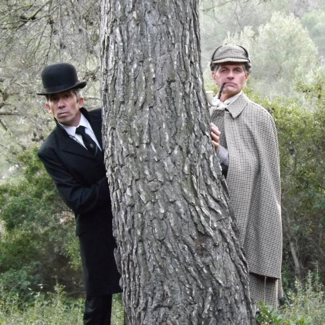 Promenade Theatrale Sherlock Holmes La Comedie D'un Autre Temps Oti Aubagne